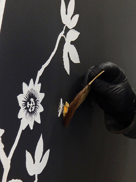 MJ ATELIER Hand Sculpted Wallcovering