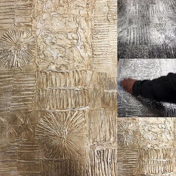 MJ Atelier hand sculpted wall covering