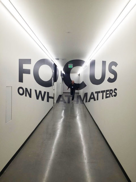 "MJ Atelier ""FOCUS ON WHAT MATTERS"""
